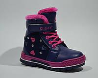 Ботинки CLIBEE арт.H118 d.blue, 26, 17.3