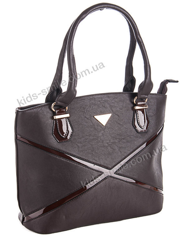 Красивая женская сумка 27.5 см х 39 см цвет кофе