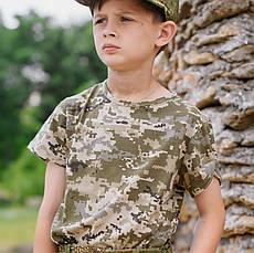 Комплект Зарница костюм кепка футболка камуфляж Пиксель, фото 3
