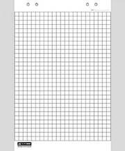 Блок паперу для фліпчартів Buromax BM.2297, 64*90 см, 20 аркушів, клітинка