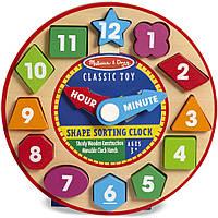 MD18593 Shape Sorting Clock (Часы-сортировщик NEW)