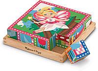 "MD19040 Princess & Fairy Cube Puzzle (Кубики ""Принцессы и феи"")"
