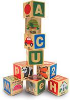 "MD2253 ABC/123 Wooden Blocks (Деревянные блоки ""Цифры/Буквы"")"