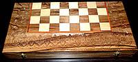 Шахмати ручна робота, оригінальний подарунок, фото 1