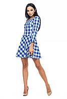 Трикотажное платье недорогоцвет: красный, размер: M, L