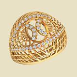 Кольцо  женское серебряное Плетенка ВKE1458, фото 2