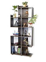 Современный шкаф для книг Модус М-5
