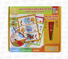 Детская обучающая  Интерактивная игра: Мир Животных VT1600-01 (рус)