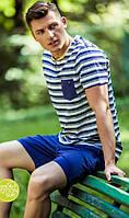 Хлопковый мужской домашний комплект / пижама KEY MNS 037 A8