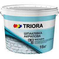 """Шпатлёвка фасадная (влагостойкая) """"TRIORA"""" 1,5 кг"""