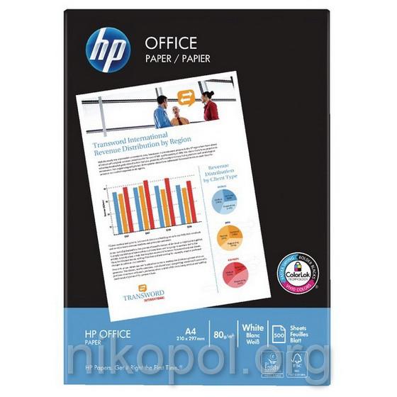 Бумага для ксерокса HP Office А4 500л. 80 гр/м²