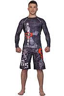 Шорты MMA BERSERK WARRIOR SPIRIT black, фото 1