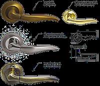 Ручка дверная NS A59060 premium