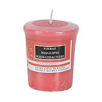 Свеча ароматизированная Розовая вода