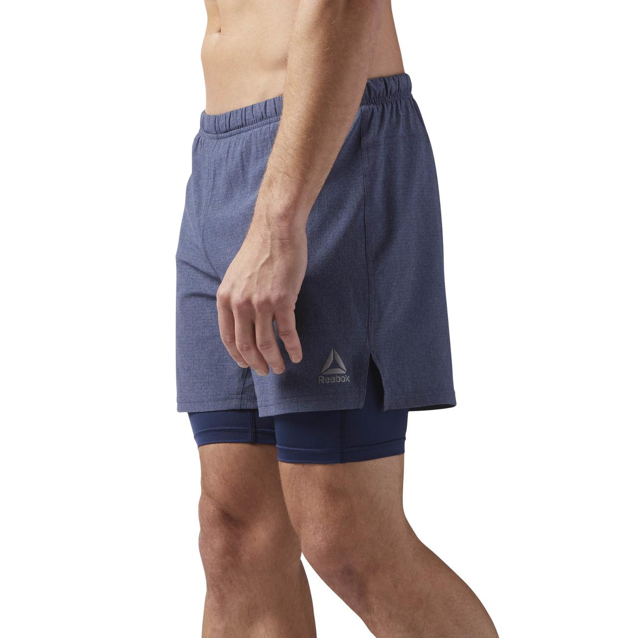 7055cf269149c Купить Мужские шорты Reebok Running 2 In 1 (Артикул: CD5436) в ...