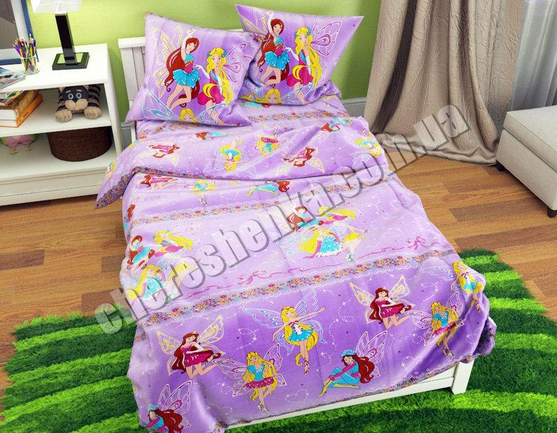 Детское постельное бельё Винкс
