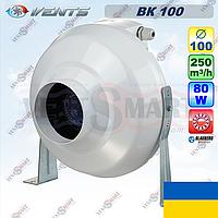 ВЕНТС ВК 100 канальный радиальный вентилятор (VENTS VK 100)