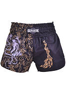 Шорты BERSERK MUAY THAI FIGHTER black, фото 1