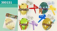 Игровой Набор черепашки-ниндзя арт. 300151