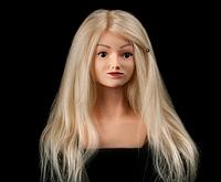 Учебная голова-манекен Arianna   100%натуральные.        , фото 1