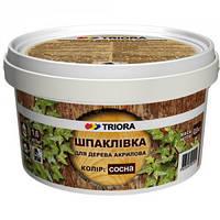 """Шпатлёвка для дерева """"TRIORA"""" сосна 0,4 кг"""