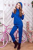 44904ffa039c Спортивный костюм женский цвет  электрик меланж, размер  42-44, 46-