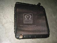 Радиатор водяного охлаждения КАМАЗ 54115 с повышенной теплоотдачей (4-х рядный) (производство г.Бишкек), AJHZX