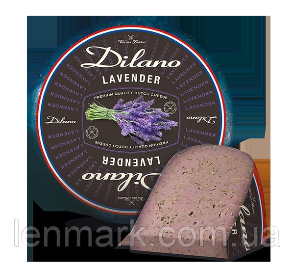 Сыр DILANO  Lavender Лаванда фиолетовый сыр