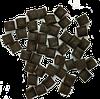 Чипсы из черного шоколада