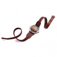 Браслет кожаный под часы Scappa WB-35