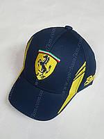 Кепка детская на мальчика Ferrari 48-52 см купить В РОЗНИЦУ в Украине Одесса 7 километр дешево опт розница