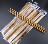 Бамбукові панчішні спиці Набір 5 шт. 25см, фото 3