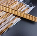 Бамбукові панчішні спиці Набір 5 шт. 25см, фото 4