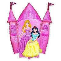 Фольгированные шары большие фигуры  Замок принцессы 78х85 см FlexMetal
