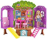 Набор кукла Барби Челси Дом на дереве  Barbie Chelsea Doll and Clubhouse Treehouse