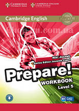 Cambridge English Prepare! 5 Workbook with Downloadable Audio / Рабочая тетрадь
