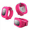 GW300 Smart Baby Watch Q50 детские смарт часы с трекером (без коробки), pink
