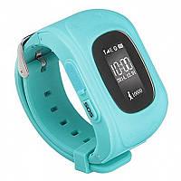 GW300 Smart Baby Watch Q50 детские смарт часы с трекером (без коробки), Light Blue (мята), фото 1