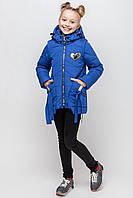 Куртка-жилет демисезонная для девочки Бантик