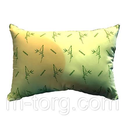 Подушка 50/70 см,бамбук,тканина мікрофібра, фото 2