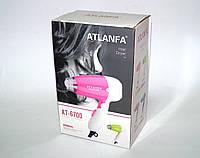Компактный дорожный фен Hair Dryer Atlanfa AT-6700 1000W складная ручка