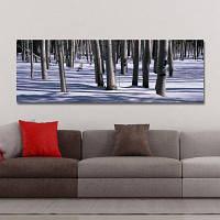DYC 10425 Фотография Лесной снег Декорации Печать Art 30 x 90см