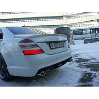 Спойлер Mercedes S-class W221 Lorinser