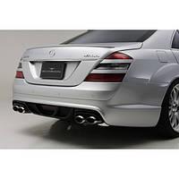 Спойлер Mercedes S-class W221 Wald Black Bison