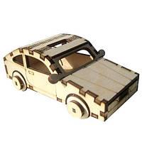Сборная деревянная модель Спортивная (в сборе 12,5*5*7,5см)