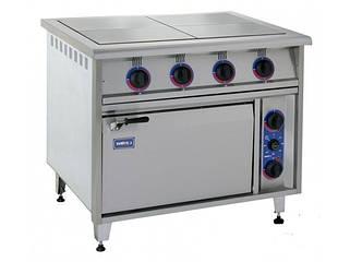 Плиты электрические промышленные с духовкой