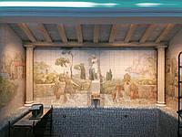Роспись ванных комнат и бассейнах