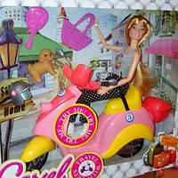 Кукла Барби на мопеде 5533