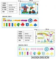 Набор игровой детский Конструктор магнитный FJ3088/3388 (1524831-7) 35-36деталей