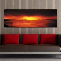 DYC 10390 Фотография Закат Декорации Печать Art 30 x 90см